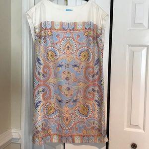 J. McLaughlin 100% Silk dress size XL